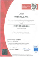 BUREAU VERITAS CERTIFICATION ISO 22000