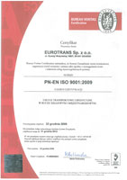 BUREAU VERITAS CERTIFICATION ISO 9001